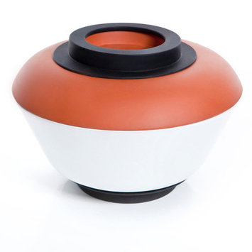 Royal Vkb Extra Large Slow Cooker Terra Cotta Round Casserole