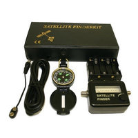 Digiwave SC10S Satellite Finder Kit with Compass And Power Supplier