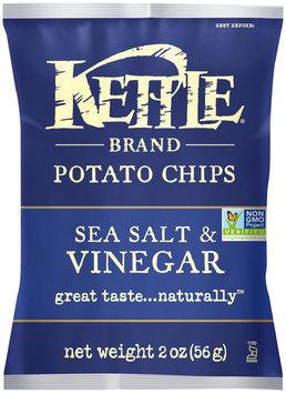 Kettle Brand® Sea Salt & Vinegar Potato Chips 2 oz. Bag