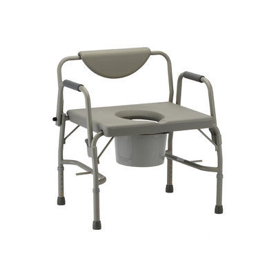 Nova Ortho-Med, Inc. Bariatric Drop-Arm Commode and Extra Wide Seat