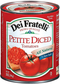 Dei Fratelli Petite Diced Tomatoes 28 Oz Can