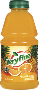 Veryfine Pineapple Orange W/Other Natural Flavor Juice Drink 32 Oz Plastic Bottle
