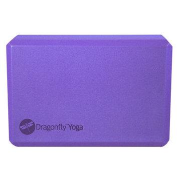Dragonfly Foam Yoga Block - Purple ( 3