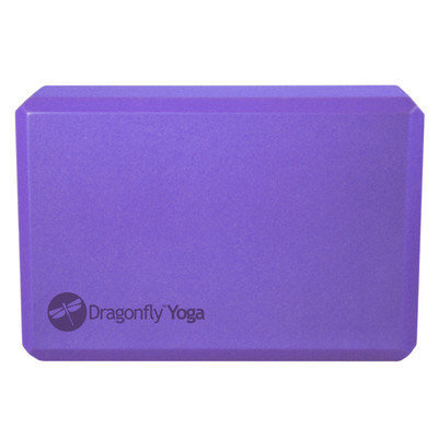 Dragonfly Foam Yoga Block - Purple ( 3