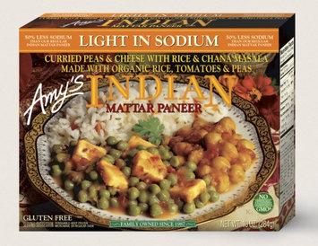 Amy's Kitchen Indian Mattar Paneer, Light In Sodium