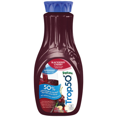 Tropicana® Trop50® Blackberry Cherry Juice 59 fl. oz. Carafe