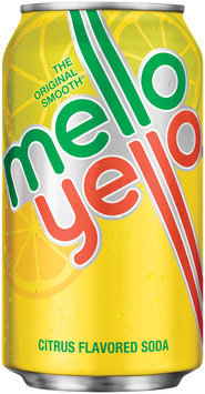 Mello Yello Citrus Soda 12 oz Can