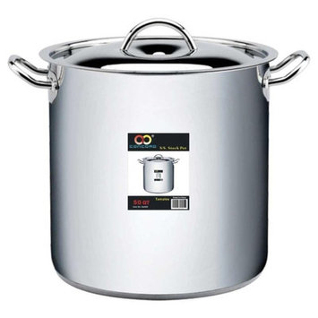 Concord Stock Pot with Lid Size: 50-qt.