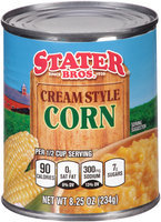 Stater Bros.® Cream Style Corn 8.25 oz. Can