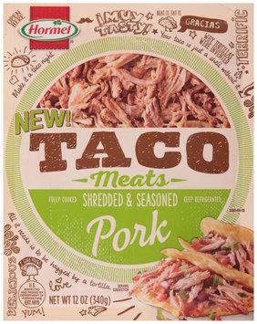Hormel® Taco Meats Shredded & Seasoned Pork