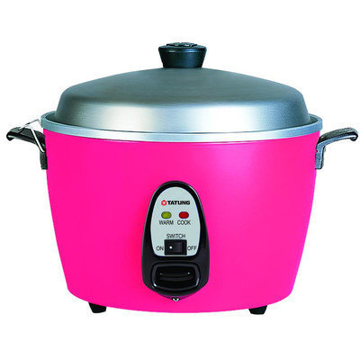 Tatung Multifunction Indirect Heat Rice Cooker Steamer and Warmer Size: 6-Cup