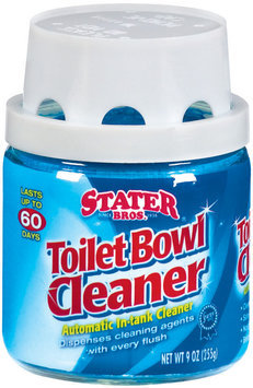 Stater Bros. Automatic In-Tank Cleaner Toilet Bowl Cleaner 9 Oz Jar