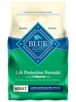 THE BLUE BUFFALO CO. BLUE™ Life Protection Formula® Lamb and Brown Rice Recipe For Adult Dogs