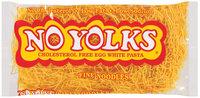 No Yolks Fine Noodles Pasta 8 Oz Bag