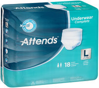 APP0730 Attends® Underwear Complete Large, 18 count