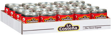 La Costena® Fire-Roasted Diced Green Chilies 20-3.3 oz. Cans