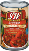 S&W® Stewed Original Recipe Sliced Tomatoes 14.5 oz. Can