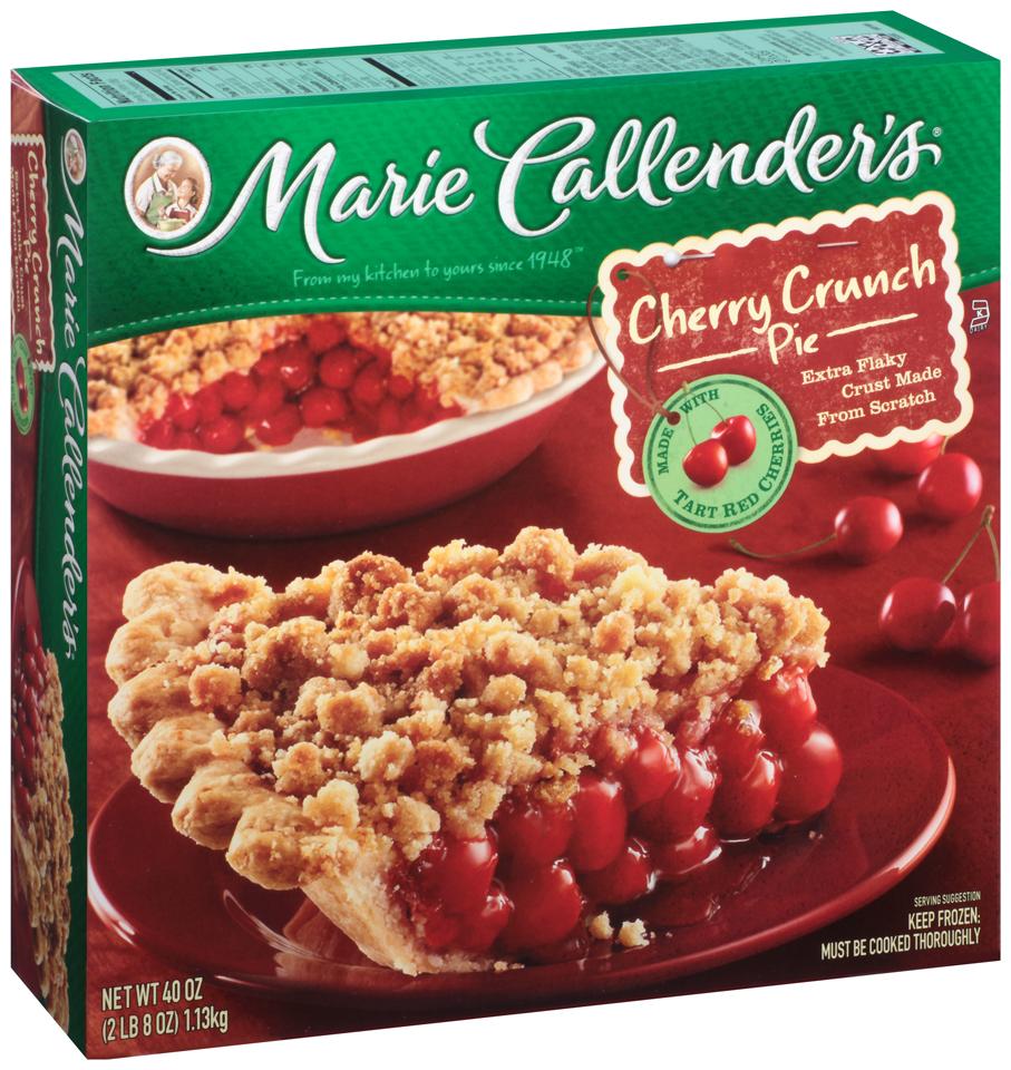 Marie Callender's® Cherry Crunch Pie 40 oz. Box