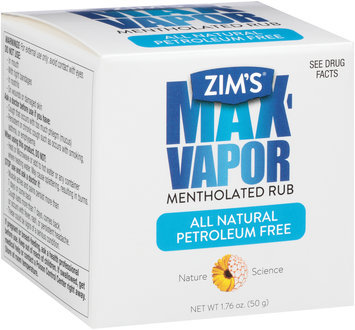 Zim's® Max-Vapor Mentholated Rub 1.76 oz. Box