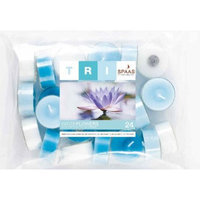 Light In the Dark Water Flowers Scented Tealight Candles (Set of 24)