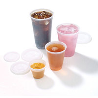 Fabri Kal Fabri-Kal 9 Oz Cold Plastic Cups, Translucent, Pack of 2500