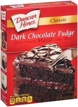 Duncan Hines® Classic Dark Chocolate Fudge Cake Mix 15.25 oz. Box