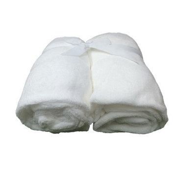 Cozy Fleece Microplush Fitted Crib Sheet Color: White