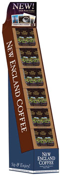 New England Coffee Dark Roast Display 1 Ct