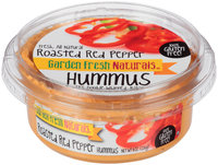 Garden Fresh Natural® Roasted Red Pepper Hummus 8 oz. Tub