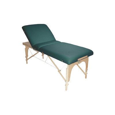 Customcraftworks Hawaiian Lift Back Portable Table with Carry Case Color: Haze Grey