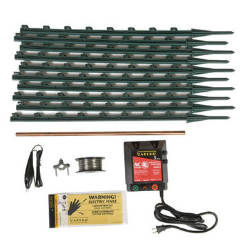 Woodstream Was Opus, Inc GARDEN AND PET AC FENCE KIT FI-SHOCK INC KGPAC-Z