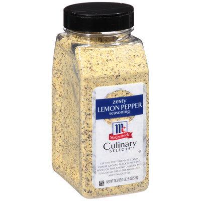 McCormick Culinary® Selects™ Zesty Lemon Pepper Seasoning