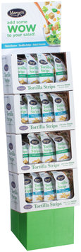 Marzetti® Sea Salt & Cracked Pepper/Zesty Jalapeno Tortilla Strips 32-4.5 oz. Corrugated Display