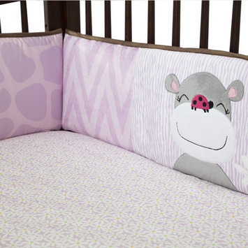 Babies R Us Lambs & Ivy Ladybug Jungle Crib Bumper