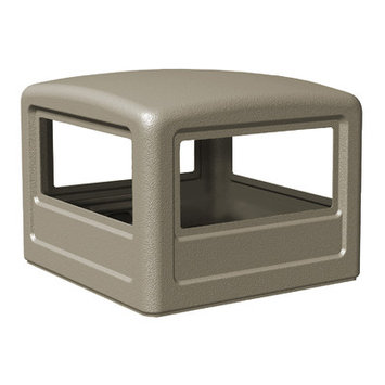 Commercial Zone Square Dome Lid
