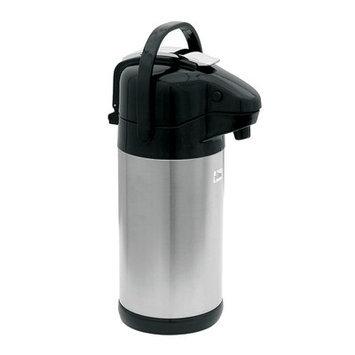 Update International NVSL-30BK - 3.0 Liter Lever Top Air Pot, Stainles