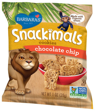 Barbara's® Snackimals™ Chocolate Chip Cookies