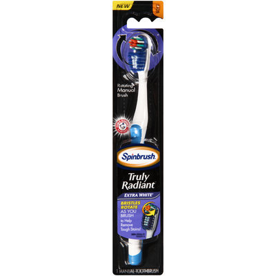 ARM & HAMMER™ Spinbrush™ Truly Radiant™ Extra White Soft Toothbrush
