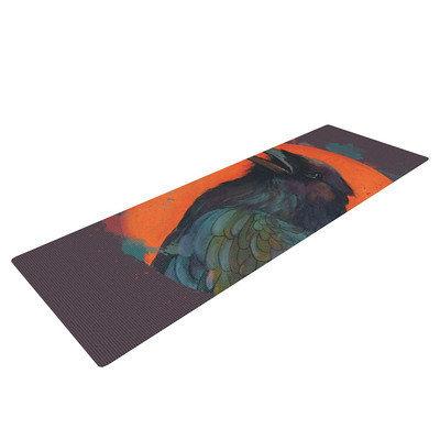 Kess Inhouse Raven Sun Alternate by Lydia Martin Yoga Mat