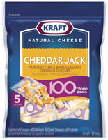 Kraft 100 Calorie Packs Cheddar & Monterey Jack Cheese Bites 5 Ct Peg
