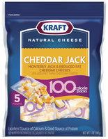 Kraft 100 Calorie Packs Cheddar & Monterey Jack Cheese Bites 5 Ct Peg