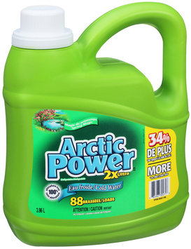 Arctic Power™ 2x Ultra Cold Water Spring Magic Liquid Detergent 3.96L Jug
