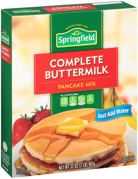 Springfield® Complete Buttermilk Pancake Mix 32 oz. Box