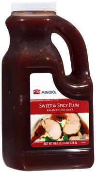 Minor's® Sweet & Spicy Plum Sauce 5.6 lb. Jug