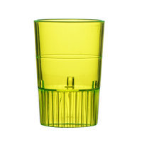 Fineline Settings, Inc Quenchers Disposable Plastic 1 oz. Neon Shooter (500/Case), Yellow