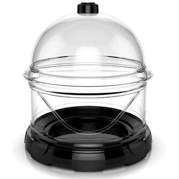 Bio Bubble Pets Aqua Terrarium Color: Black, Size: 2 Gallon