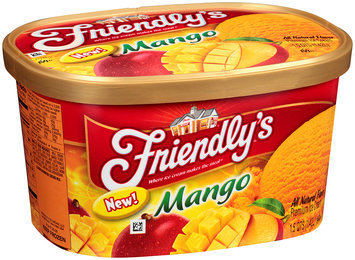 Friendly's® Mango Premium Ice Cream 48 oz. Tub