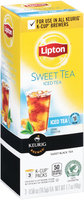 Lipton™ Sweet Iced Tea K-Cup® Packs 3-0.58 oz. Box
