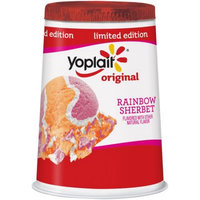 Yoplait® Original Rainbow Sherbert Flavored Low Fat Yogurt