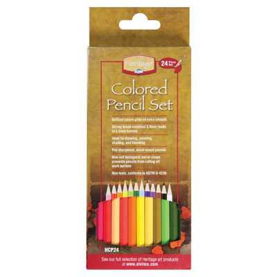 Alvin & Company Alvin and Co. Colored Pencil Set (Pack of 24)